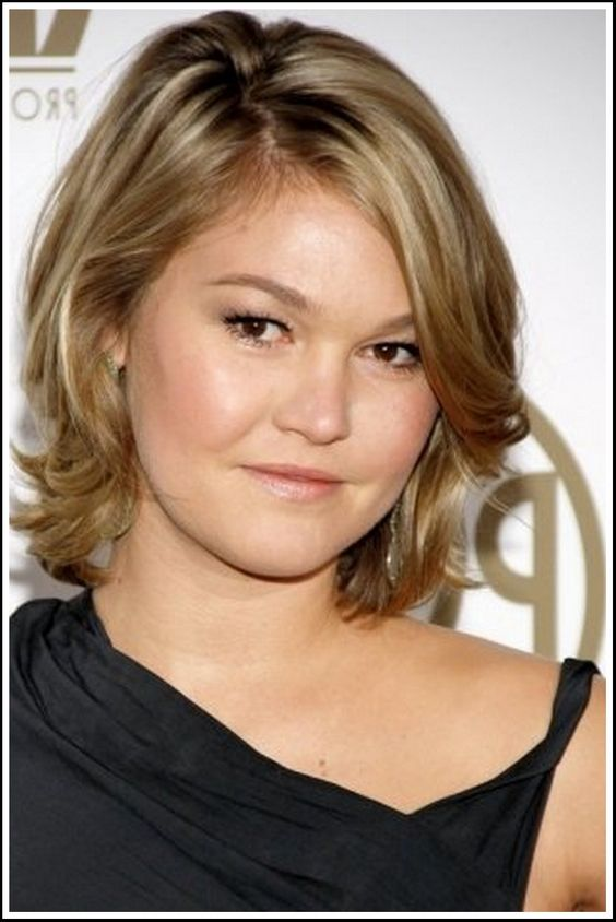 Hairstyles for fat faces Double chin and Short hairstyles on Pinterest
