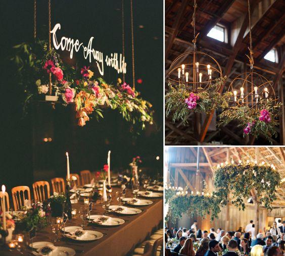 Fab Florals: The Floral Chandelier — Everthine Bridal Boutique