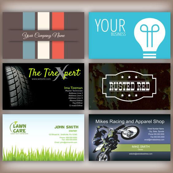 980 + Business Card Templates to choose from starting at $8.17          https://www.46print.com/business-cards-0