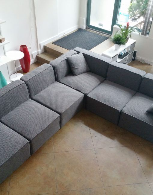 Soft Cube Modern Modular Sofa Set Sofa Sofas For Small Spaces