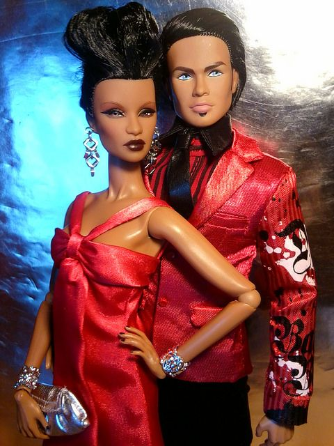 Power Couple by krixxxmonroe on Flickr.Dominique Makeda & Damon
