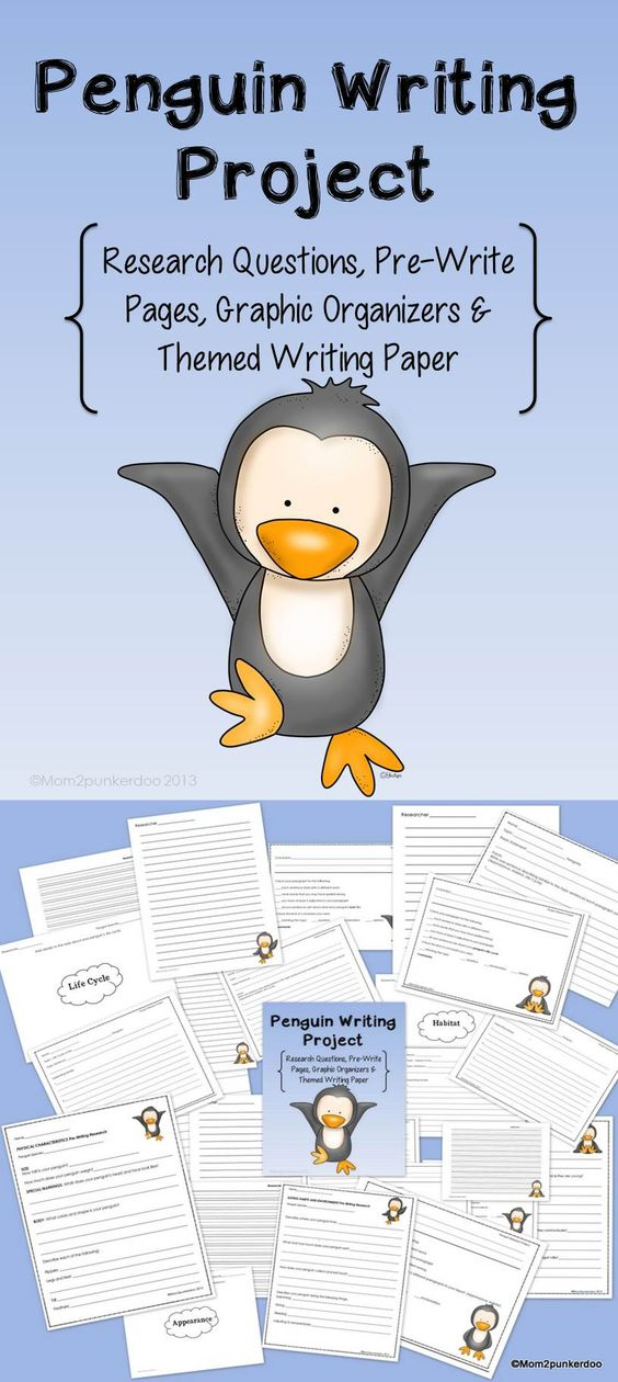 penguin research papers A twelve-page easy penguin research project perfect for teaching the common core shared research standard with even your earliest researchers my first report.