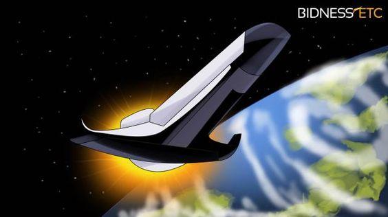 Northrop Reveals Artwork Of Concept Spaceplane