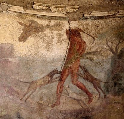 Actaeon Fresco, Pompeii