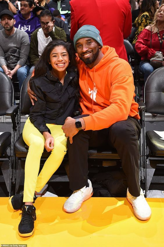 Daughters age bryant kobe Who Are