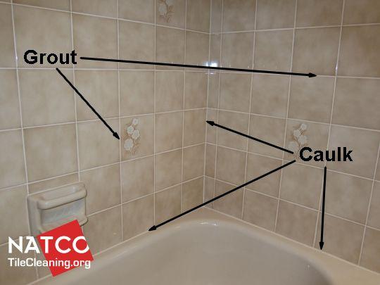 Grout Vs Caulk In A Tile Shower, Sealant For Bathroom Tiles