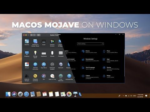 Macos 10 14 Mojave Comes With Some Great Features Like Dark Mode Dynamic Wallpaper Quick Look Here Is How To Get Mac Windows 10 Windows Wallpaper Windows 10