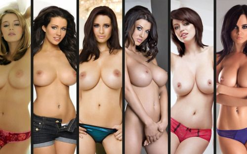 babesofbritain:Keeley Hazell Holly Peers Sammy Braddy Alice...