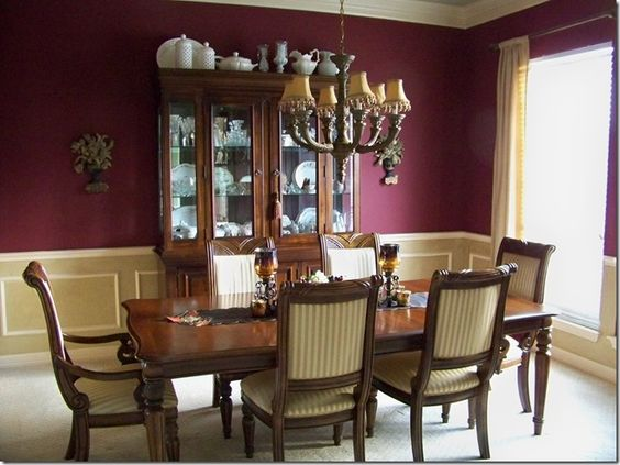 BEFORE & AFTER: FRESH DINING ROOM & BUTLER'S PANTRY