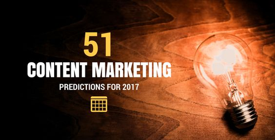 We asked 51 marketing experts what we could expect for content marketing in 2017, and beyond. Learn where your focus should be, what changes are coming and some future trends to keep an eye on.   #BeMagnificent  #ContentMarketing  #MagnificentMarketing