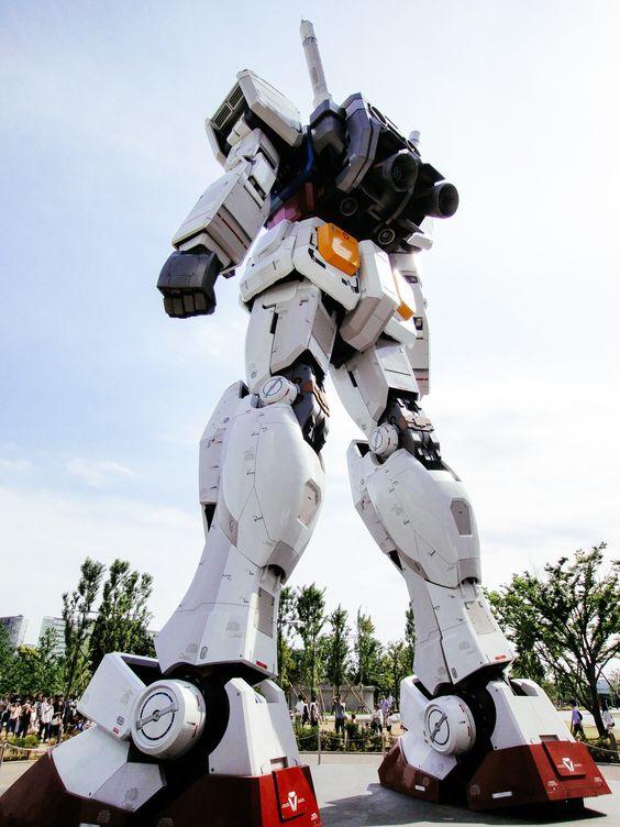 nemoi:  DiverCity Tokyo Plaza: RG1/1 RX-78-2 Gundam Ver.GFT (via Dick Thomas Johnson)