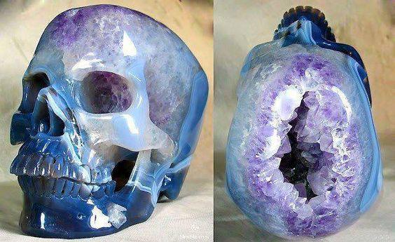 Josh loves this Amethyst Skull