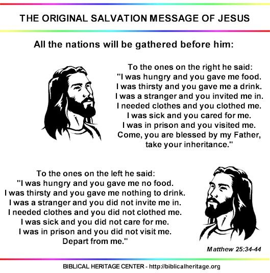 What if every church taught the original salvation message of Jesus?