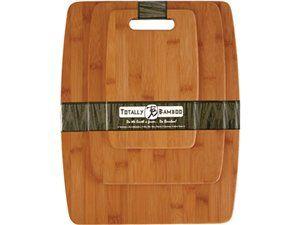 Cutting Board Set (3-pc.) by Totally Bamboo by Totally Bamboo at Chef Knife Guru #chefknifeguru