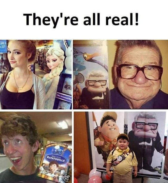 they are all real