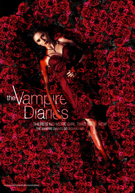 the vampire diaries season 4 poster by noda d57p0wz 713x1024 Quando ...
