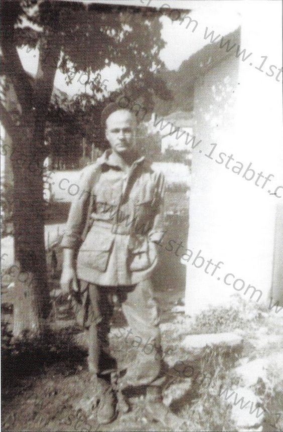 1st Lt. George H. Luening - Platoon Leader, A Company - 551st Parachute Infantry Battalion. Luening was wounded at knee during the patrol in La Turbie between september 2-3, 1944.