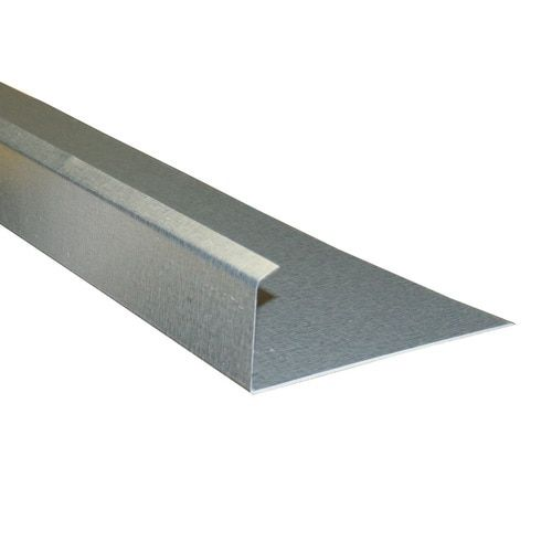 Union Corrugating 5 In X 10 Ft Galvanized Steel Drip Edge At Lowe S Used Over Doors And Entry Ways Diverts Water Away F In 2020 Galvanized Steel Drip Edge Galvanized