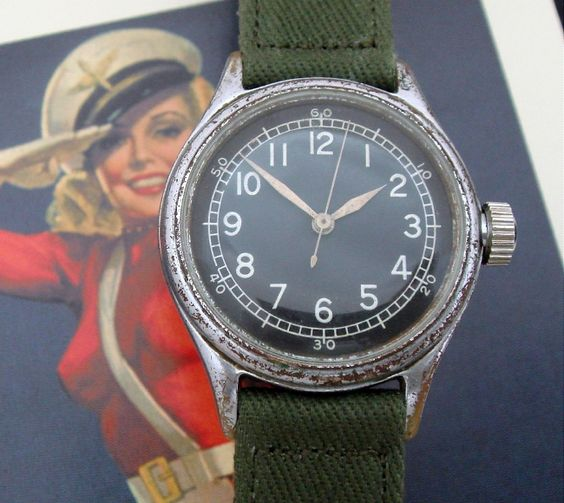 Men's 1945 Bulova A-11 Aviator's Wrist Watch | Strickland Vintage Watches
