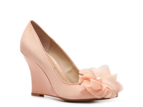 Lulu Townsend Blossom Wedge Pump