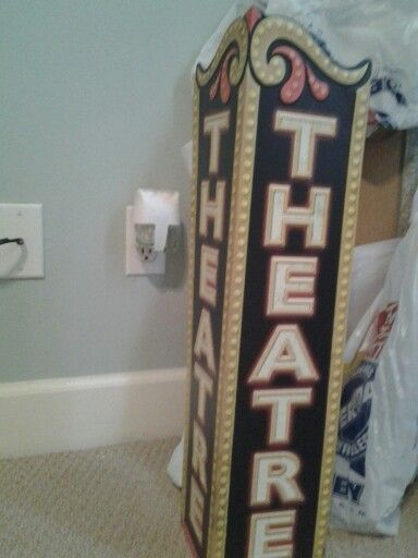 Broadway themed room hobby lobby and lobbies on pinterest for Broadway themed bedroom ideas
