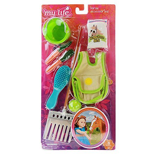 NEW My Life As Horse Care Playset Grooming Tools Toys Accessories Pony Children
