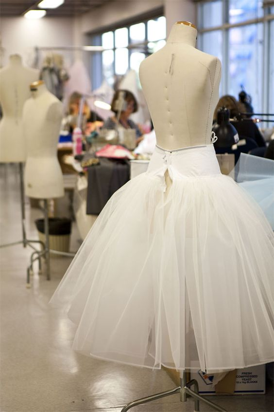 romantic tutu skirt on basque