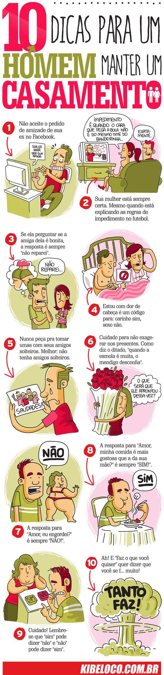 Top Kibe Loco - maneiras para um homem manter seu casamento.: