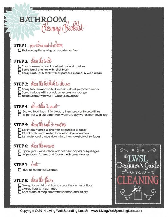 Cleaning Supply   Cleaning Checklist Organizations And Organizing