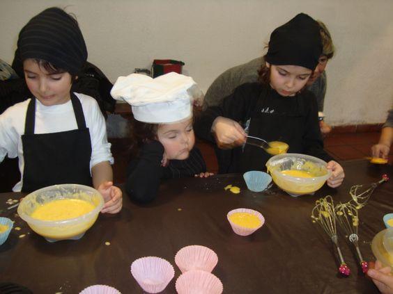 cocinan de verdad ...y en su propia fiesta de cumpleaños!