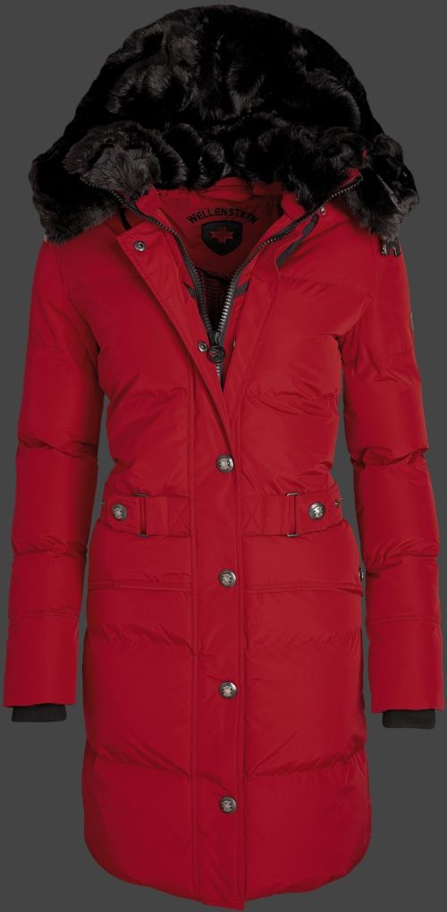Wellensteyn Kitzbühel Women Winter, TiSaAirTec, Darkred
