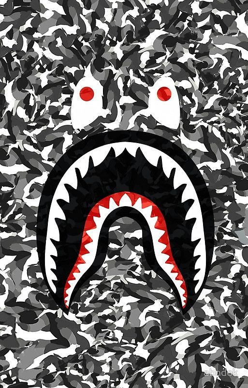Iphone Black Supreme Wallpaper 2020 In 2021 Bape Wallpaper Iphone Bape Wallpapers Bape Shark Wallpaper