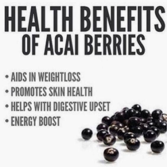 BIO E® World: Health benefits of Acai Berries
