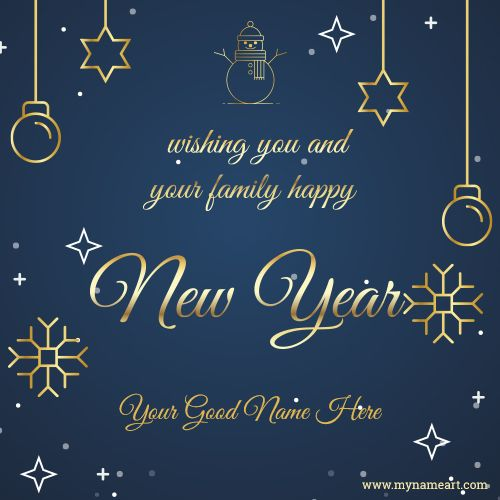 Wishing You And Your Family Happy New Year New Year Wishes Images Happy New Year Wishes New Year Wishes
