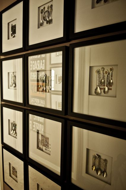 33 best custom framing with joann images on pinterest custom framed spoon collection might work in a bathroom where regular art might get damp shannons eclectic decorative bay area home solutioingenieria Image collections