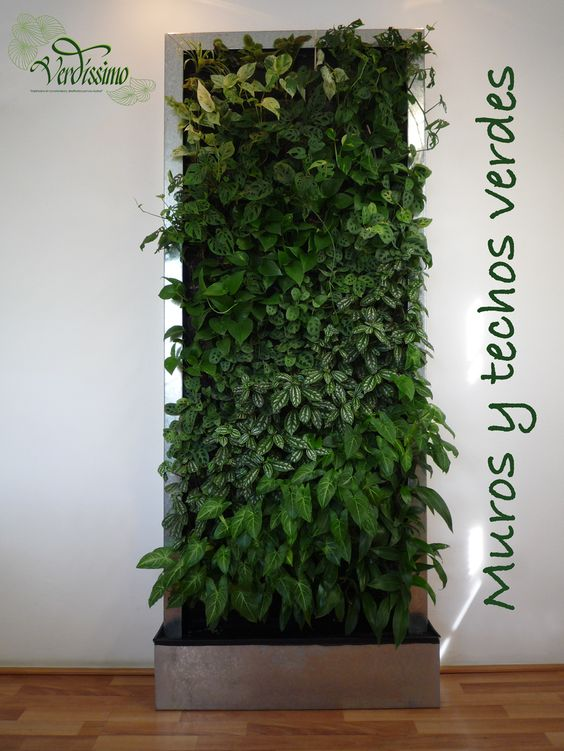 Los jardines verticales no son rejas con enredaderas son - Verjas para jardin ...