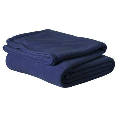 Room Essentials® Microfleece Blanket Comes in ORANGE