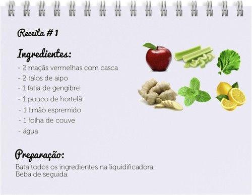 Na Rota do Bem Estar  by Francini Soares  : Dieta: Sumo Detox para cortar o jejum!!