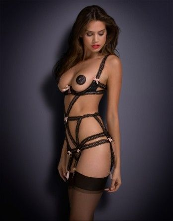 Naughty Lingerie by Agent Provocateur - Charlie Playsuit