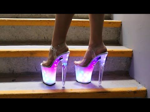 8 Inch High Heel Platform Shoes