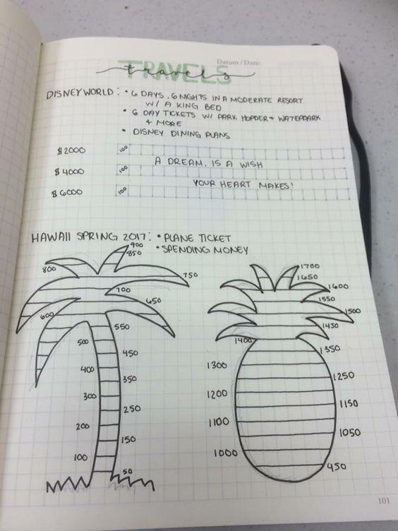 Vacation Savings Tracker