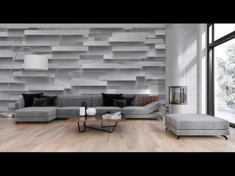 ورق حائط 3d Youtube Home Decor Decor Home Decor Decals