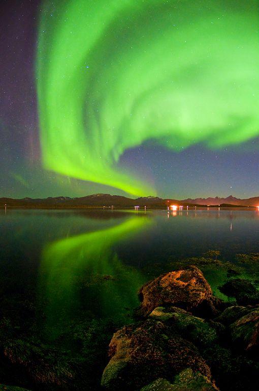 A new season with Aurora: Photo by Martin Eliassen