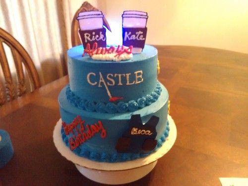 Cake Tv Show Us : Castle Tv show cake tumblr Caskett Celebration Cake ...