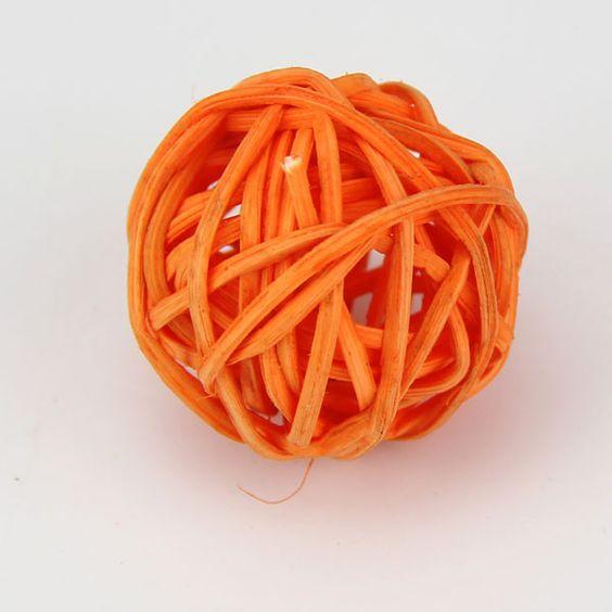10PCS/Lot Hot Sales Diameter 5CM Can Mix Color For Wedding Decorative Rattan Ball,Christmas Decor Home Ornament Home Decoration