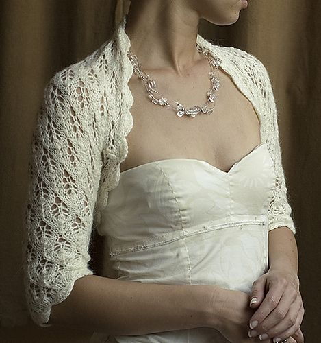 Ravelry: Matrimonio bolero pattern by hand made by fasOLA