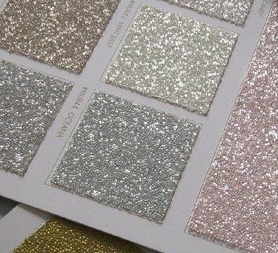 Glitter glitzertapete and tapeten on pinterest for Goldene wand tapete