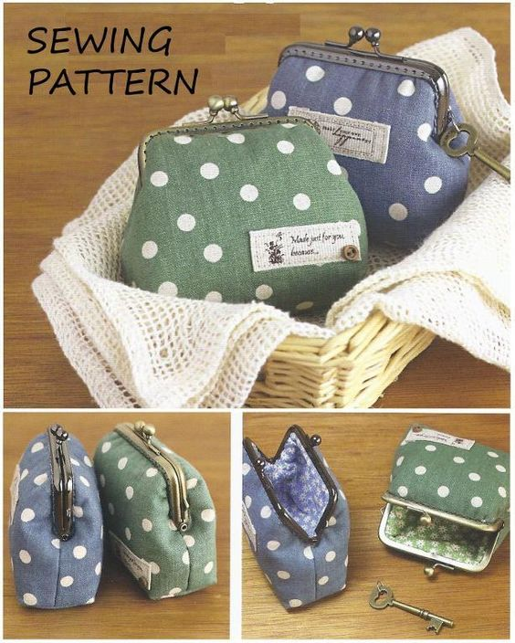 Frame Coin Purse By Supercutestore Sewing Pattern