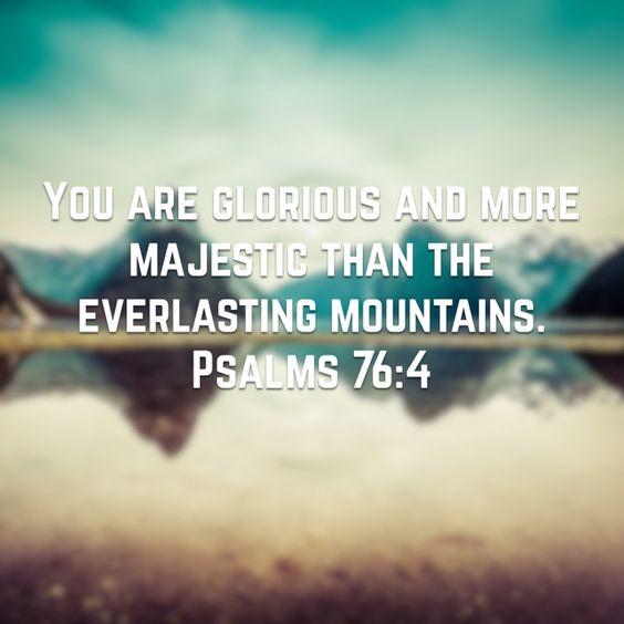 Psalm 76:4