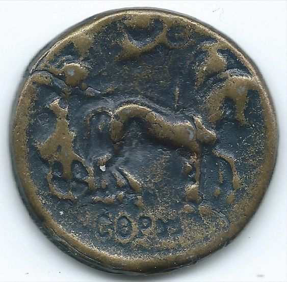 Reproduction Fake Ancient Greece Coin 466 BC Tetradrachm Gela Ceeaz https://ajunkeeshoppe.blogspot.com/